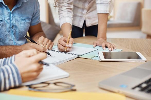 Teamwork-effektivisera-affären-linjärsystem